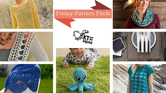 Friday Pattern Finds Berroco Weekend   KT and the Squid