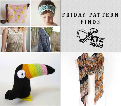 Friday Pattern Finds 5/6/16   KT and the Squid