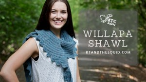 Willapa Shawl Pattern Release | KT and the Squid