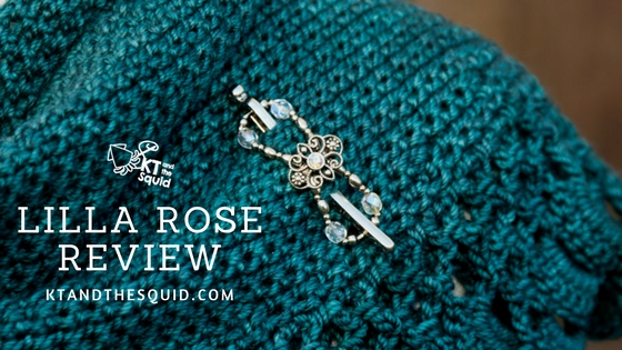 Lilla Rose Hair Clip Review | KT and the Squid