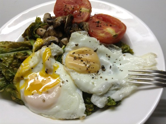 Sauteed Kale Breakfast Bowl3