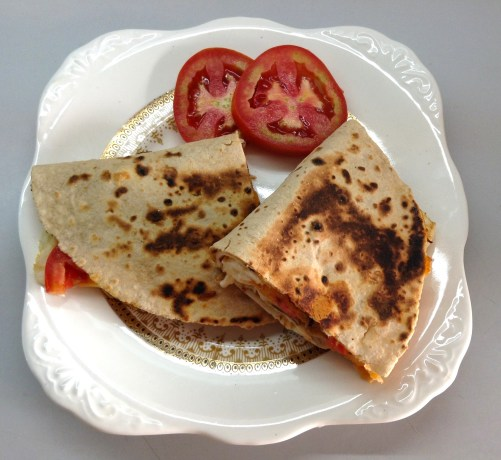Egg white quesadilla 2