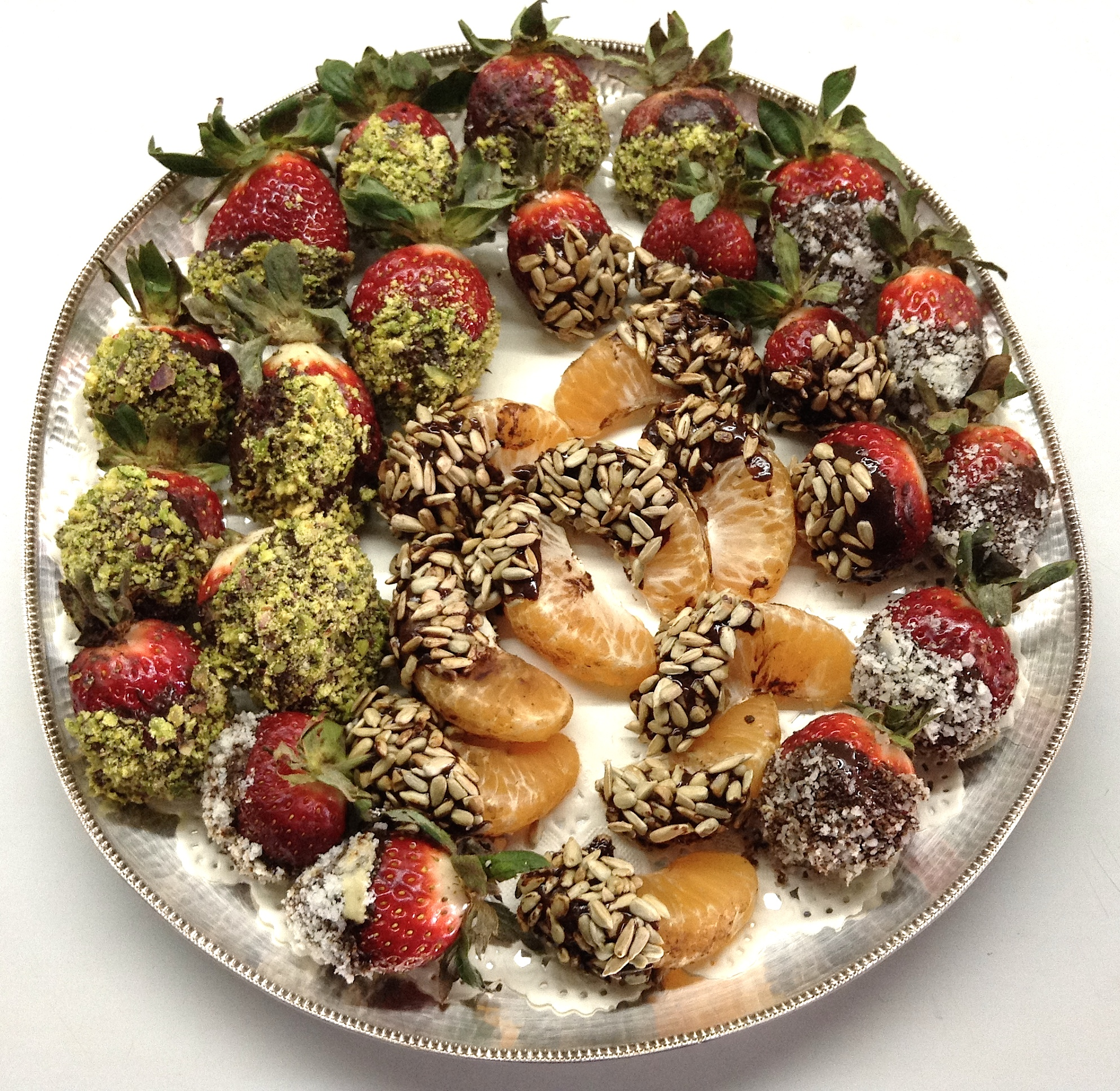 how to keep chocolate covered strawberries from leaking