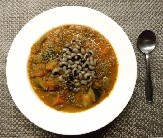 Black-Eyed Bean & Mixed Veggie Soup