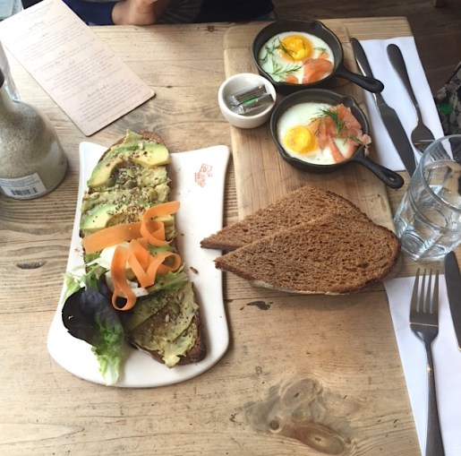 A crackin' lunch at Le Pain Quotidien