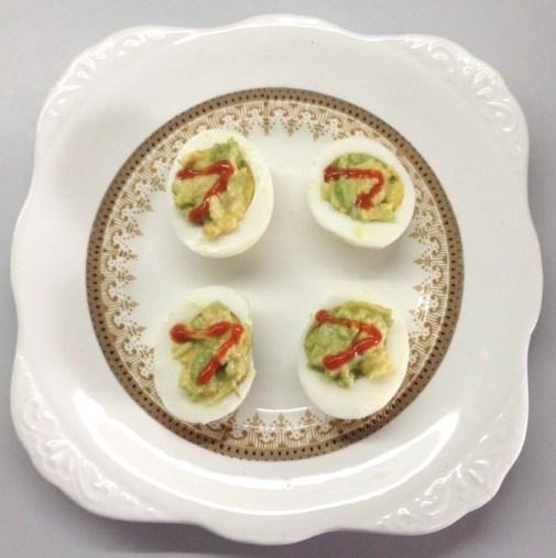 Guac Devilled Eggs