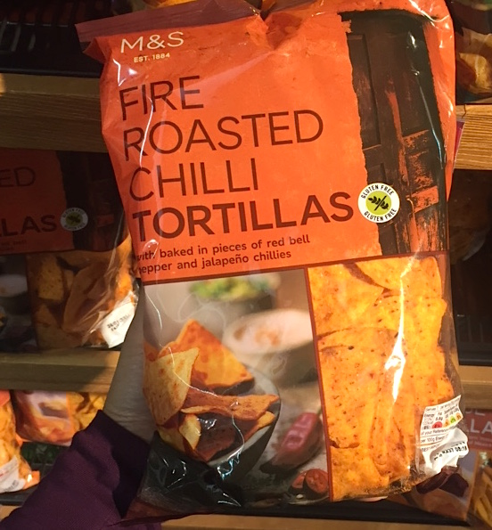 Fire Roasted Tortilla Chips