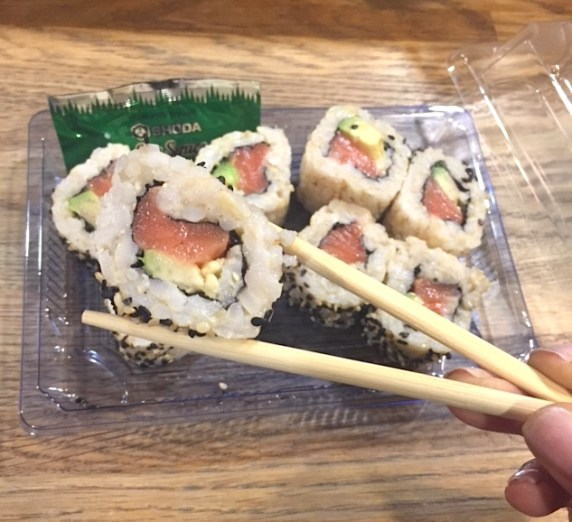 Whole Foods Brown Rice Sushi