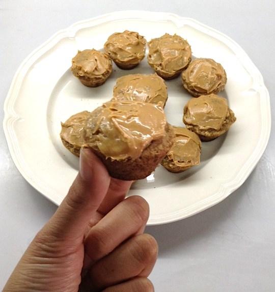 Peanut Butter & Banana Muffin Bites