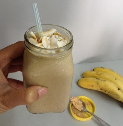 Vegan PB & Banana Smoothie