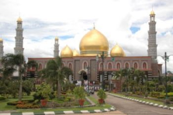 Masjid Kubah Emas atau Mesjid Dian Al Mahri