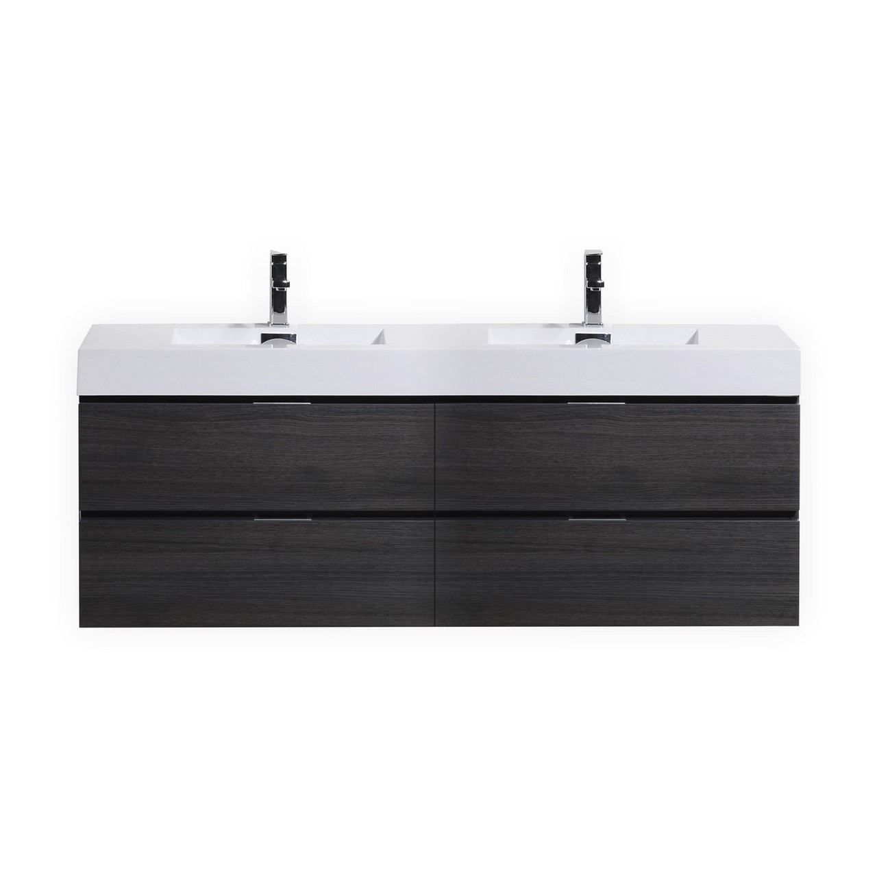 Wall Mount Double Vanity Bliss 80