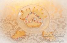 Kuchenkönigin Butter Kekse Cookies Krone Krönchen Crown Backen mit Kindern