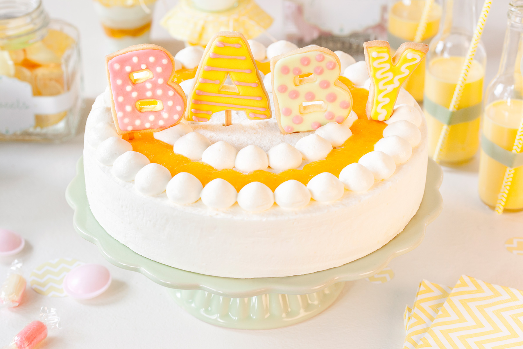 3d Torte Rezept Baby Shower Party Kuchen Booktav