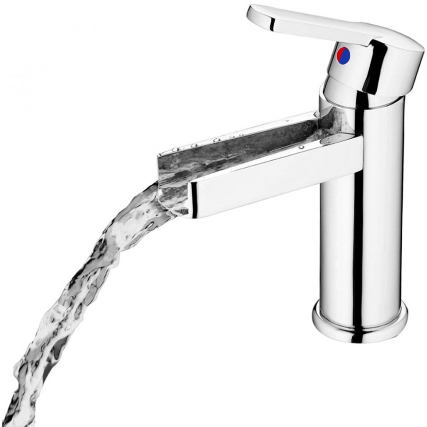 Retro Badarmaturen Wasserfall Armaturen Badezimmer Bad Wasserhahn Set