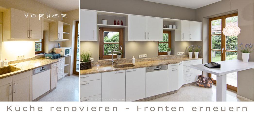 Küche Neue Fronten Vorher Nachher | Kueche Vorher Nachher ...