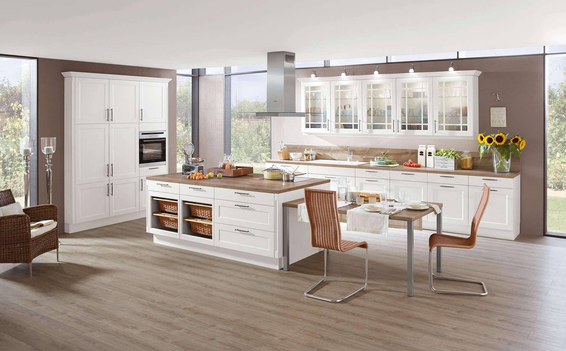 Insel Küchen Nobilia | Moderne Küche Mit Kochinsel Fotografie Küchen ...