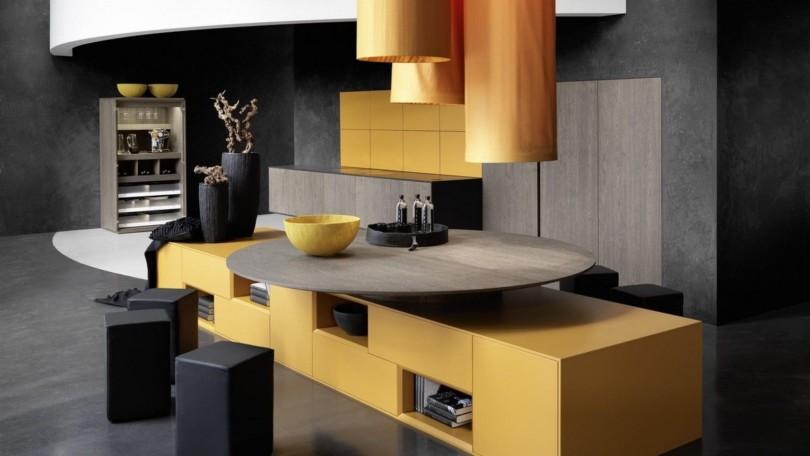 Küche 70er-stil