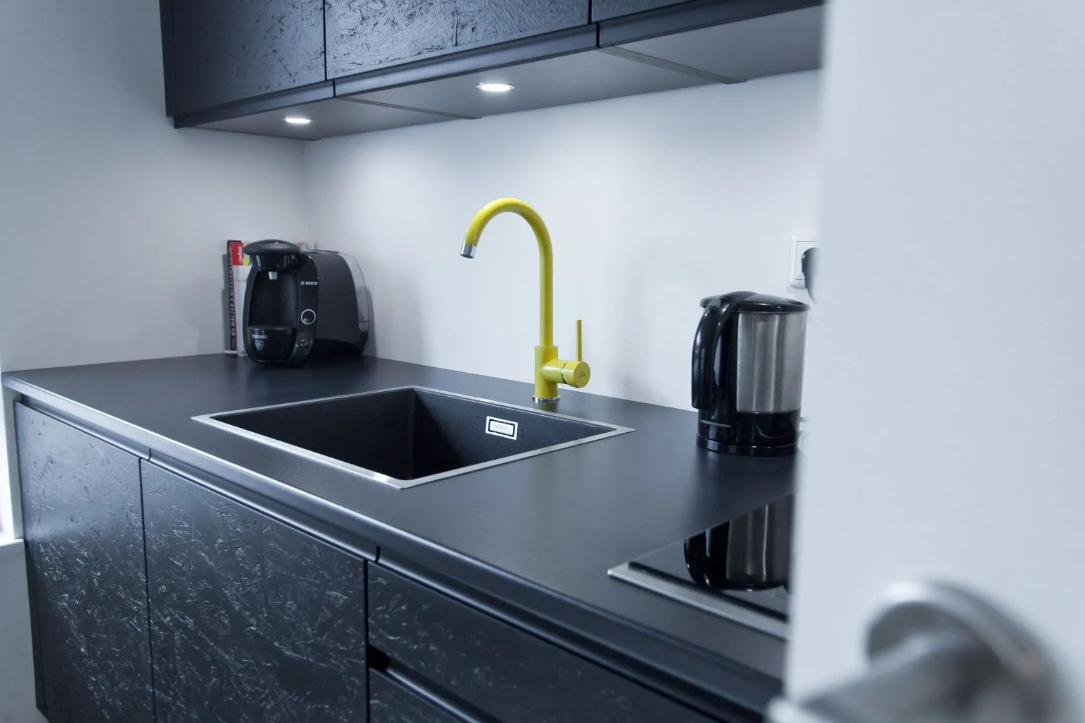 Utensilienhalter Küche Schwarz