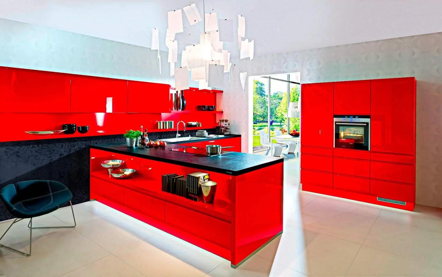 k chen farben farbe in der k che 30 ideen f r wandfarben und fronten. Black Bedroom Furniture Sets. Home Design Ideas
