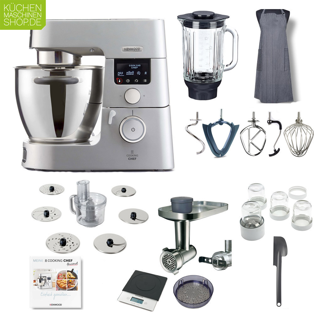 Kenwood Küchenmaschine Chef Profi Paket Kenwood Kcc 9060 S Cooking Chef Gourmet Timer