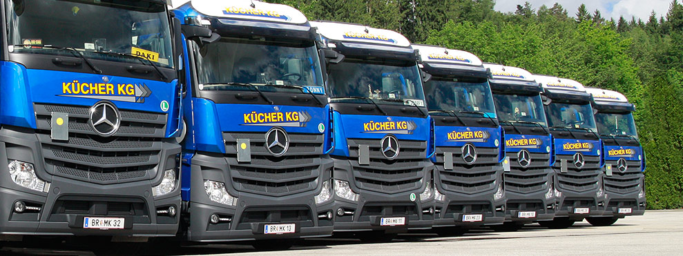 Kücher Kücher Spedition - Internationale Schüttguttransporte