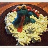 Teil 2 zum Thema Geburtstagskuchen - heute gibt's eine Monstertorte