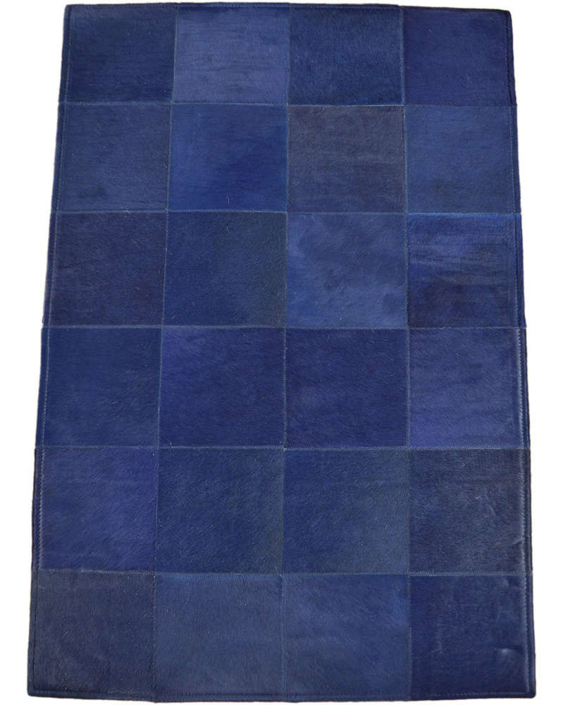Teppich 80 X 80 Exklusiver Kuhfell Teppich Blau 120 X 80 Cm Bei Kuhfelle Online