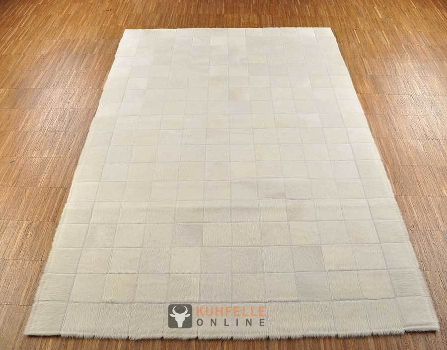 Kuhfell Teppich Creme Weiss 180 X 120 Cm Kuhfelle Online - Kuhfell Teppich Weiß
