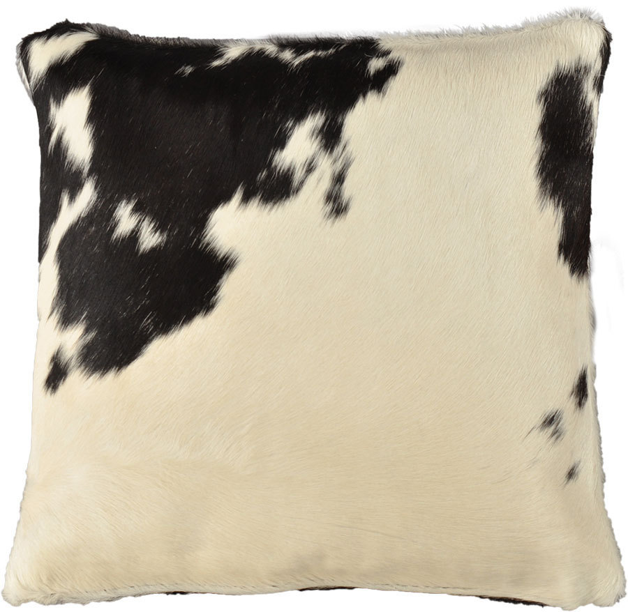 Kopfkissen 40x40 Cowhide Cushion Cover Black White 40 X 40 Cm Kuhfelle Online