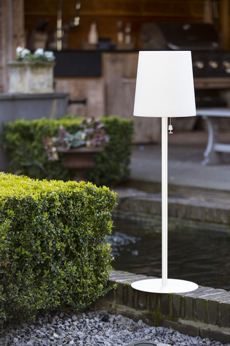 Tuin Lamp Gacoli Tuinlamp Checkmate No 2 Park Wit Hoogte 92 Cm