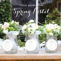 会場装花 Spring Pastel