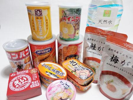 非常食 お菓子 缶詰