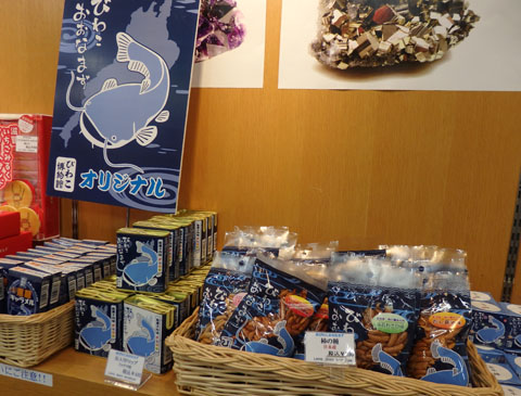 琵琶湖博物館 お土産