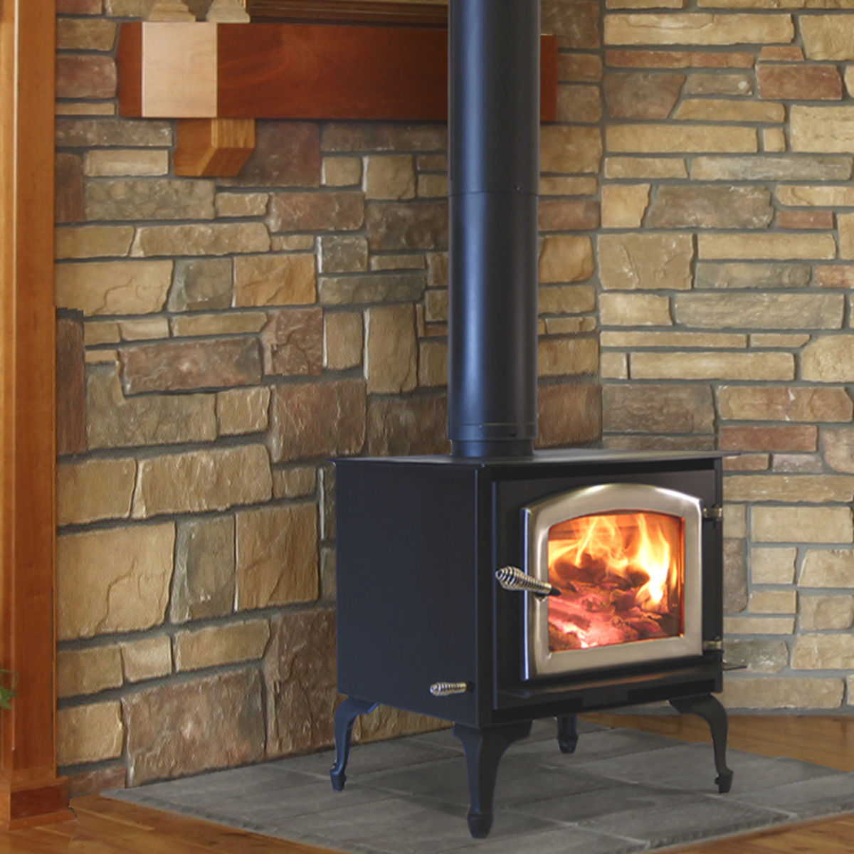 Aspen Wood Stove And Freestanding Fireplace By Kuma Stoves