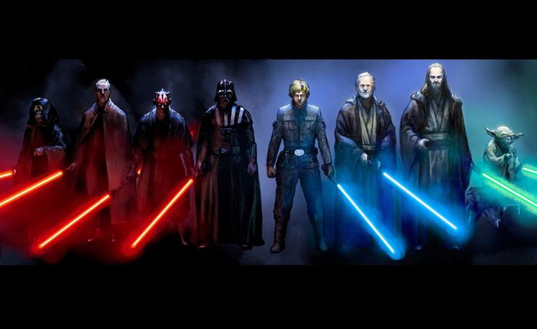 Top 5 Star Wars Lightsaber duels!