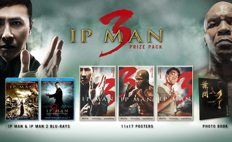 Ip Man 3 Prize Pack competition!