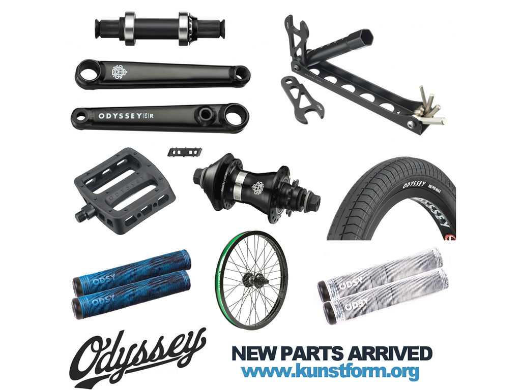 Bmx Parts Odyssey Bmx 2017 Bmx Parts Arrived Kunstform Bmx Shop