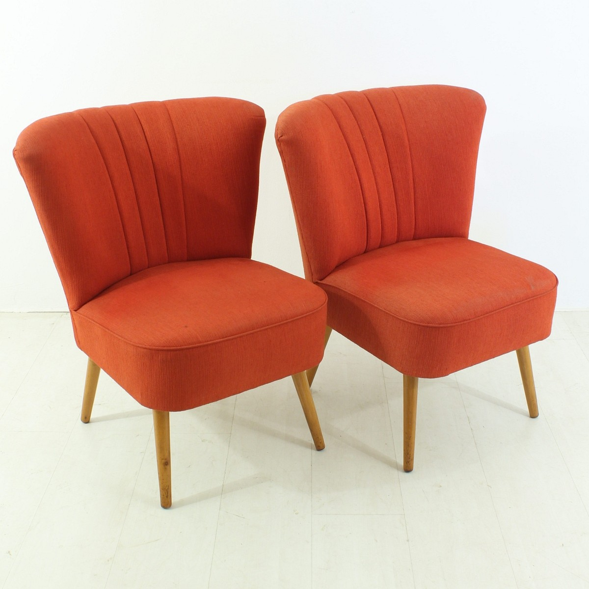 Sessel Fidschi 2er Set 50er Jahre Midcentury Cocktail Sessel