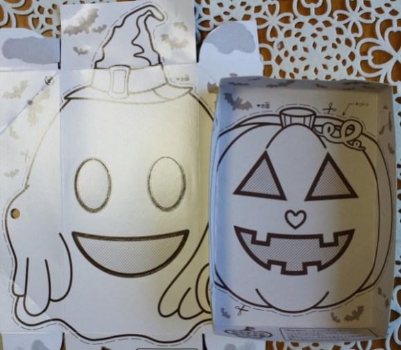 ハロウィンお面ゴーストとかぼちゃジャック・オー・ランタン