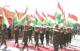 Peshmerga forces, south Kurdistan