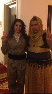 Kurdish man and woman