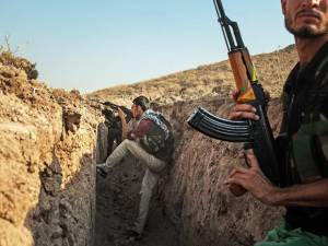 Kurds are the 'boots on the ground' fighting IS