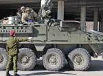Litewskie wojsko ma ambitny plan wyposażenia trzech batalionów piechoty w około 100 wozów pancernych Fot. Marian Paluszkiewicz