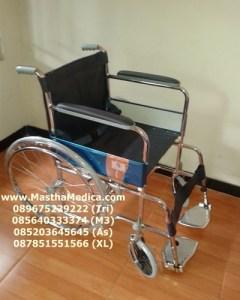 Toko Jual Kursi Roda standar Rumah sakit Murah samping