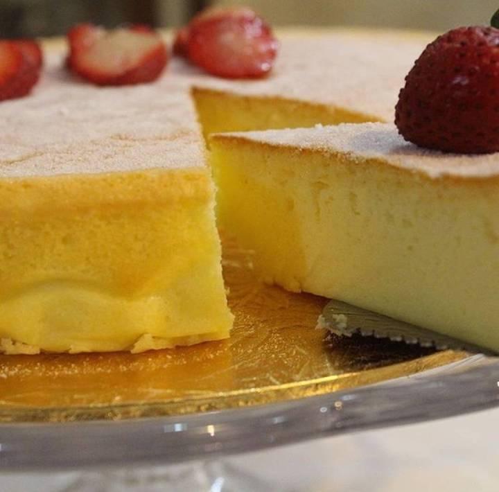 Japanese Cheese Cake 🍰 التشيز كيك الياباني