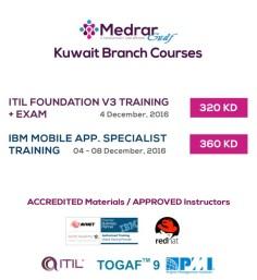 Medrar Kuwait IT Training Courses Promotion