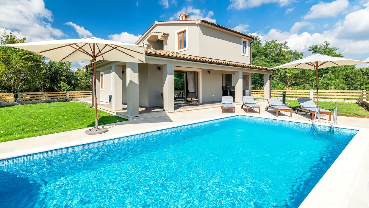 Pool Kaufen Real Villa For Sale Svetvinčenat