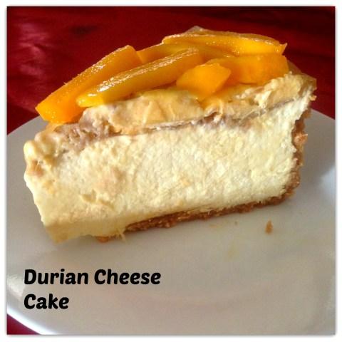Durian Muffins (榴莲马芬)