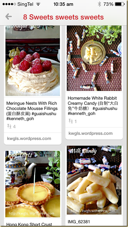 RECIPE INDEX ( Updated on 13 March 2015)